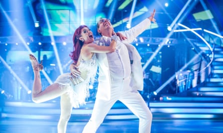 Dianne Buswell and Rev Richard Coles on Strictly Come Dancing in 2017