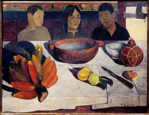 The Meal by Paul Gauguin.