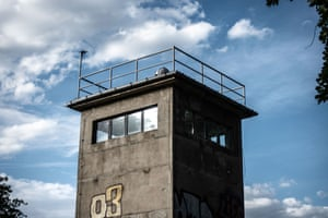 The watchtower of the former Schlesischer Busch command post