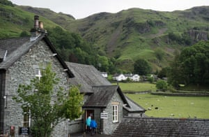 Voters can enjoy a picturesque backdrop in Chapel Stile, Ambleside in the Lake District.