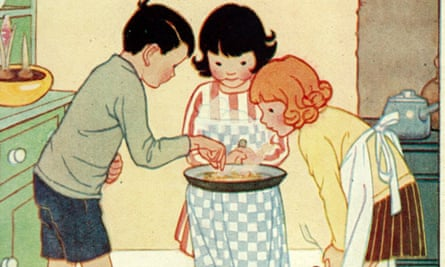 Detail of an illustration for Milly-Molly-Mandy Stories by Joyce Lankester Brisley