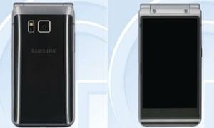 Samsung's flip-phone.