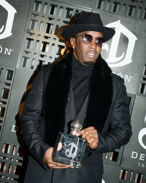 Sean Combs at the DeLeón tequila launch party at Cedar Lake, New York.