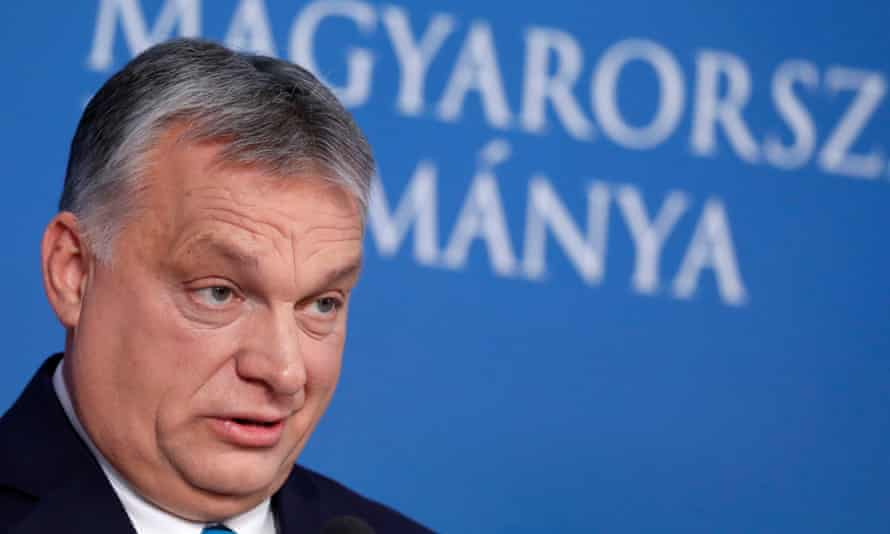 The Hungarian prime minister, Viktor Orbán