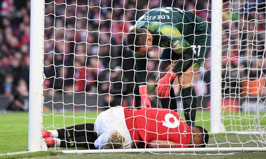 Anthony Martial has not recovered from the injury he sustained against Manchester City on Sunday.