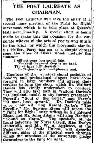 Manchester Guardian, 24 March 1916.