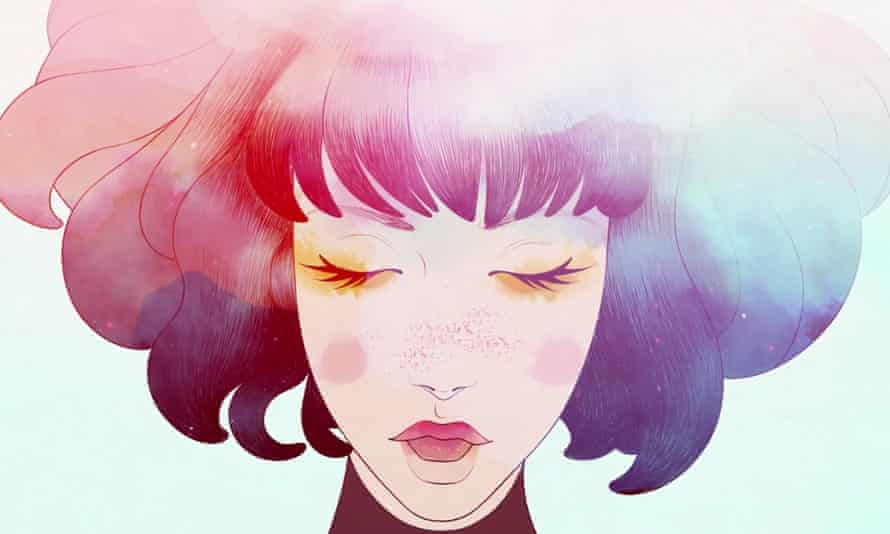 An ethereal presence … the star of GRIS
