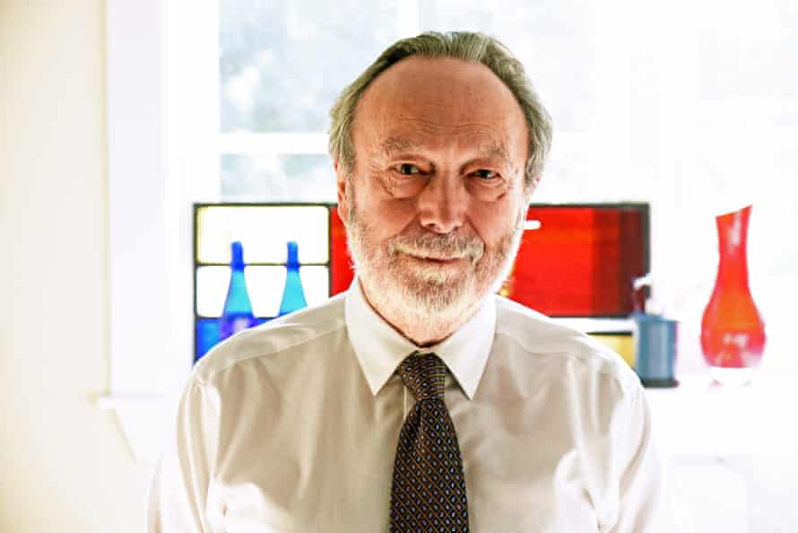 stephen porges in shirt and tie at his home in atlantic beach florida