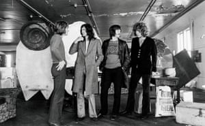 """Photos were something that had to be done, like interviews. I'm sure members of the Grateful Dead were there being photographed, I think Pigpen had a gun. It's like """" oh welcome to America!"""" - John Paul Jones, San Fransisco, 1969"""