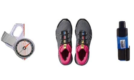 Orienteering fitness kit