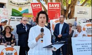 Sydney community groups unite to fight 'greed-led' overdevelopment