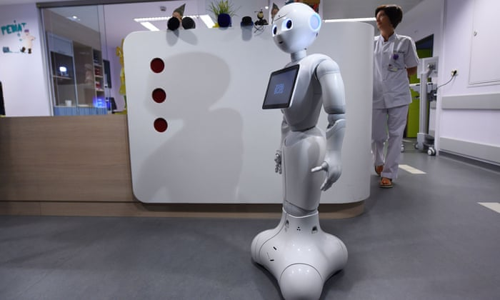 Robot receptionists introduced at hospitals in Belgium