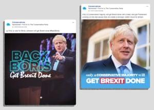 Conservative Facebook ads