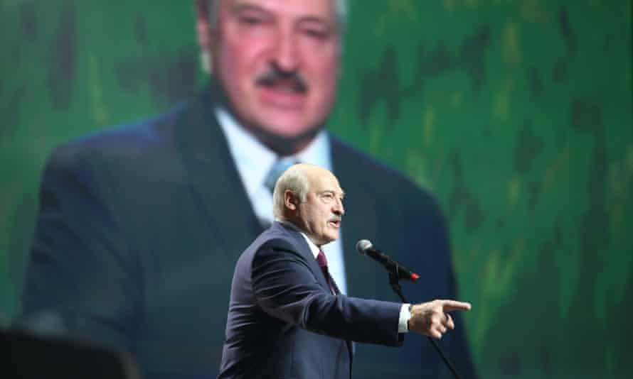 Belarusian president, Alexander Lukashenko, who last autumn promised a transition to a parliamentary system of government.