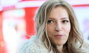 Yulia Samoilova toured Russian-annexed Crimea.