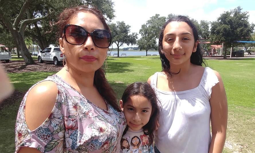 Alejandra Juarez, 39, was deported to Mexico with her daughter, Estela, who was 9 at the time. Her husband and older daughter, Pamela, stayed behind in Florida.