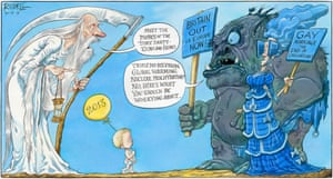 A not so happy new year from Chris Riddell.