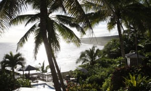 The government of Niue, an island in the Pacific Ocean, is considering moving ahead in time by a day.