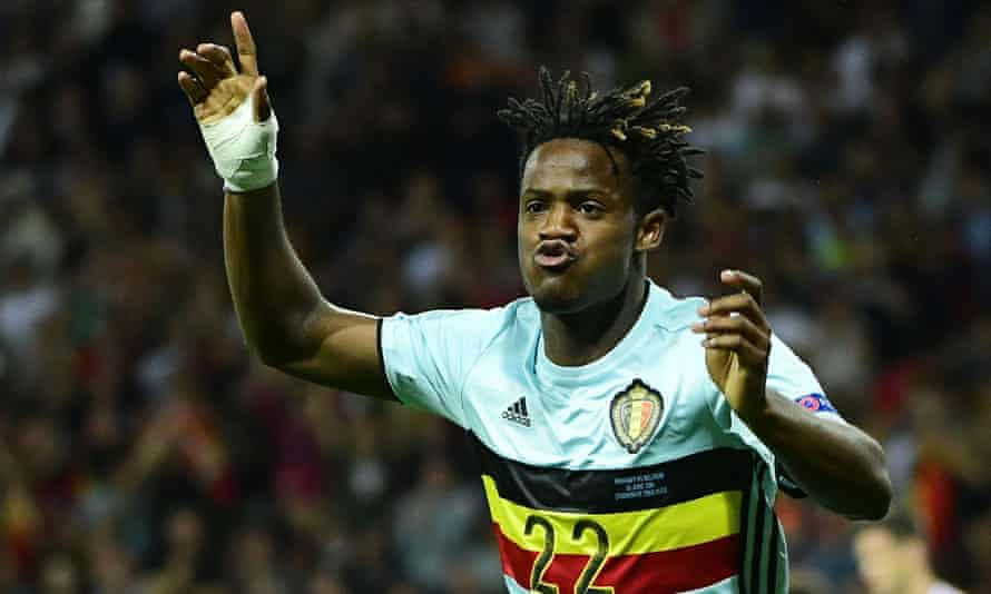 Michy Batshuayi scored in Belgium's Euro 2016 last-16 win over Hungary and now looks set to leave Marseille for the Premier League with Chelsea.