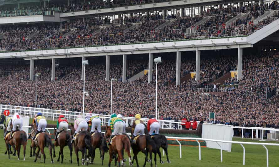 Huge crowds gathered at the Cheltenham Festival in March despite widespread public misgivings.