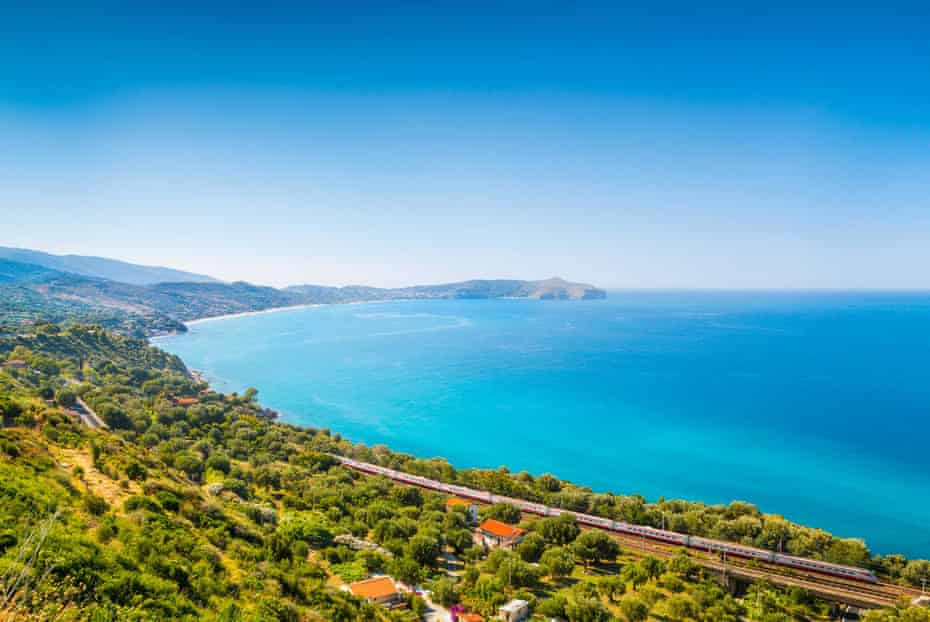 Coastal near Salerno, Italy.