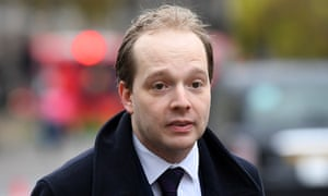 Oliver Lewis, who has resigned as head of Boris Johnson's unit tasked with keeping the UK together.