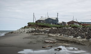 Residents of Shishmaref voted to relocate to the mainland, but in common with other Alaskan towns, there is no clear source of funding to do this.