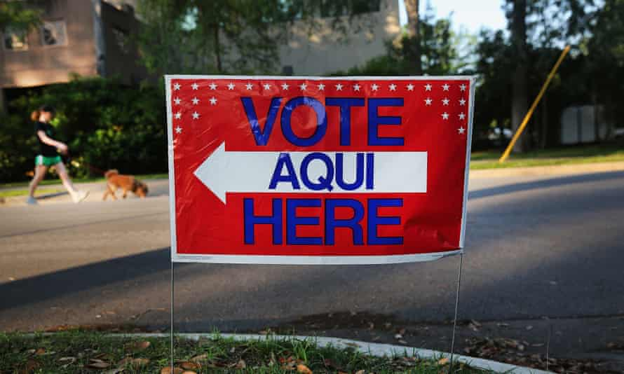 'Political campaigns tend to overlook and ignore Latinx communities. A recent poll showed that 75% of young Latinos in Texas had not heard from any presidential campaign in the six months before the survey.'