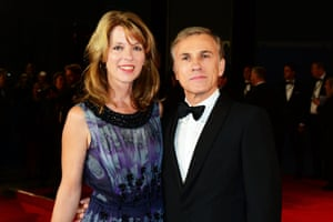 Christoph Waltz and his wife Judith Holste
