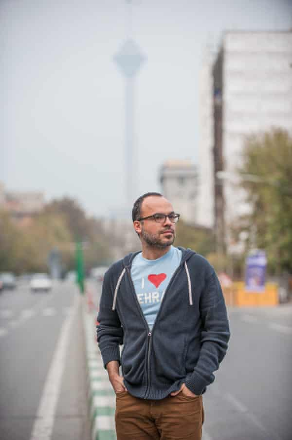 Hossein Derakhshan, an Iranian blogger who was imprisoned for six years for things he had written online.