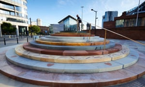 The £1m memorial to Peterloo was designed by artist Jeremy Deller.