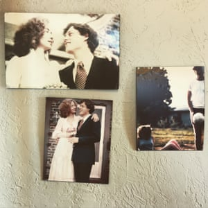 Photographs of Bill and Hillary Clinton