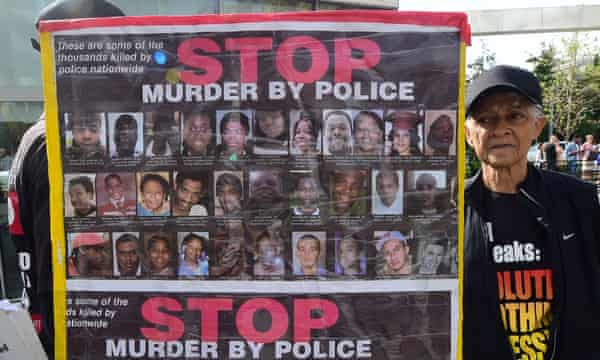 Predictive policing may have contributed to police shootings of black people.