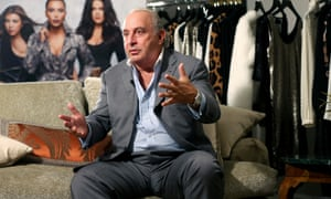 Philip Green, owner of the Topshop chain