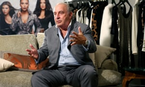 Sir Philip Green, the billionaire owner of fashion retailer Arcadia