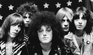 MC5, with Wayne Kramer second from left, in 1969.