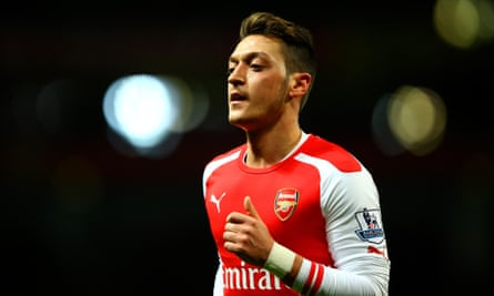 Mesut Özil was Arsenal's record signing when he joined the club from Real Madrid in the summer of 2013.