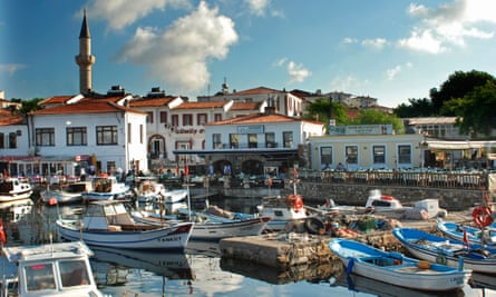 Bozcaada Harbour, Turkey.