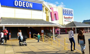 An Odeon cinema in Bracknell, Berkshire