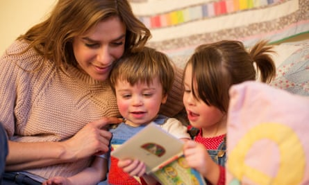 Reading to young children