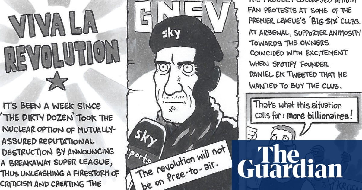 David Squires on … fan resistance and the fall of the European Super League