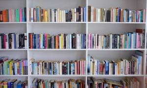A bookcase full of literature