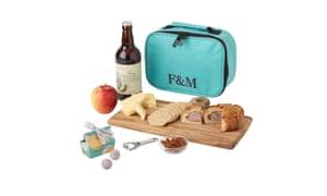 Rambler picnic hamper https://www.fortnumandmason.com/products/man-s-best-friend-picnic-less-dog-biscuits