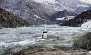 Thomas Dezso's The Flooded Village of Geamana (2012)