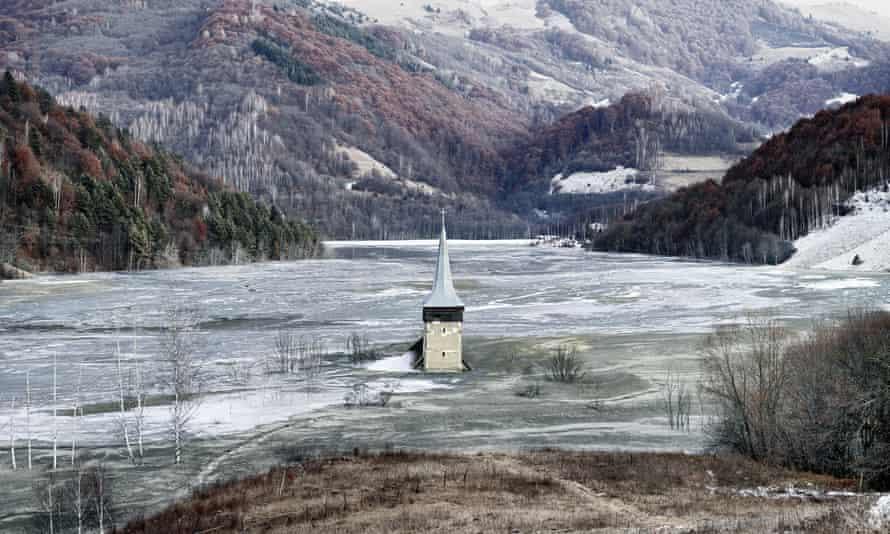 Thomas Dezso's The Flooded Village of Geamana (2012)