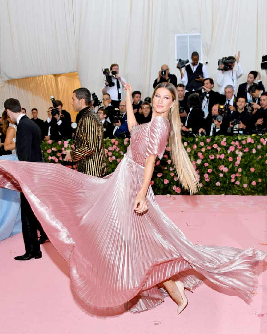 Belle of the ball: Gisele at the 2019 Met Gala Celebrating Camp, New York City.