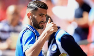 Riyad Mahrez has accepted he will be staying at Leicester for the time being