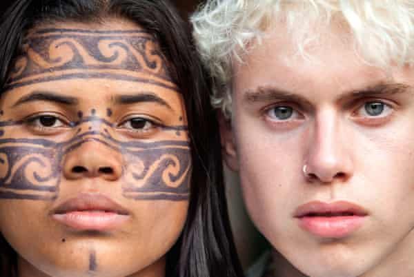 Anita Akawil Yudja, a Brazilian indigenous activist, and Elijah McKenzie-Jackson, a British student climate striker.