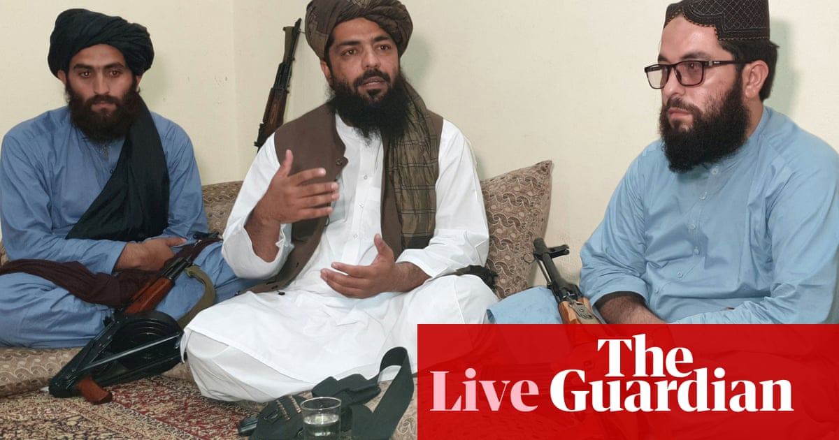 Afghanistan live news: US troops may stay past 31 August, says Biden; Taliban official rules out democracy