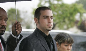Wade Robson arrives at the Santa Barbara County Courthouse, California in 2005 to appear as a witness for the defence in the Michael Jackson child molestation trial.